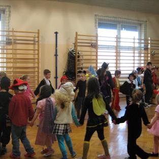 Bal Karnawałowy w Oddziale Przedszkolnym i klasach I-III 2014