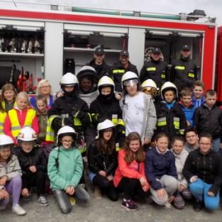 Spotkanie ze strażakami z OSP Zasań
