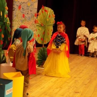 Przedstawienie ekologiczne przedszkolaków